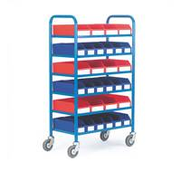 Picture of 6 Shelf Container Trolley
