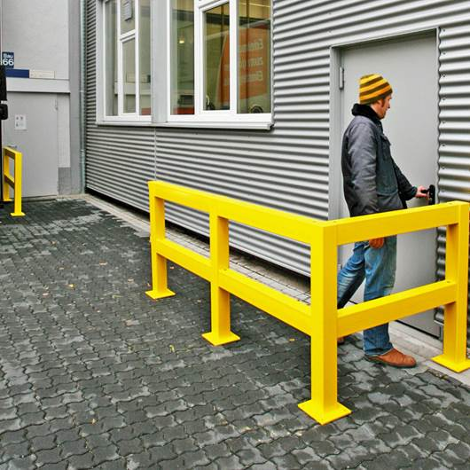 Picture of TRAFFIC LINE - Impact Protection Railing System