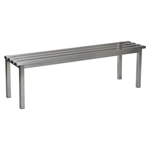Picture of Stainless Steel Benches with Stainless Steel Slats