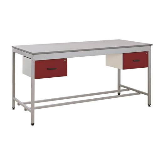 Picture of Taurus Utility Workbench with Two Single Drawers - From Stock