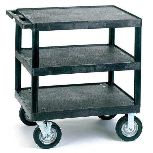 Picture of Heavy Duty Service Trolleys with Flat Shelves