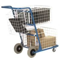Picture of Pannier Basket to suit Premium Mail Distribution Trolley