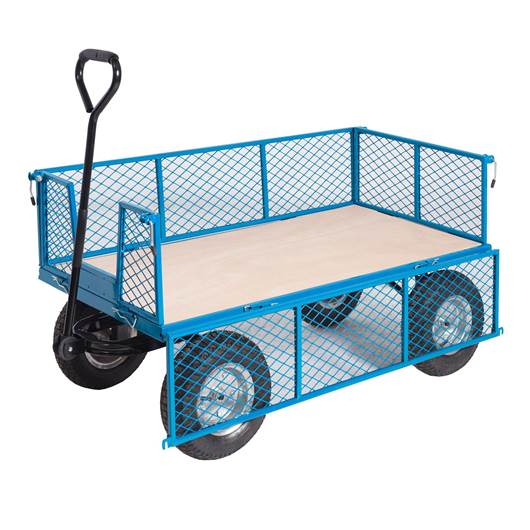 Picture of REACH Compliant General Purpose Trucks with Mesh Sides
