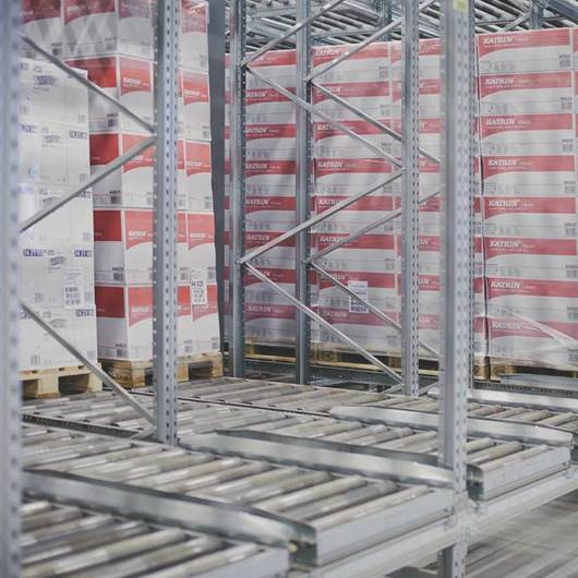 Picture of Pallet Flow Racking