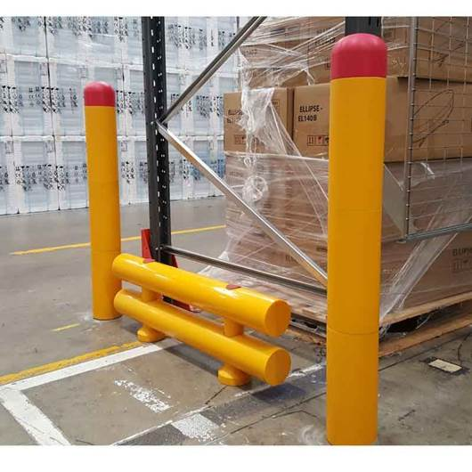 Picture of STOMMPY Flexible Barrier Systems Rackend Protection
