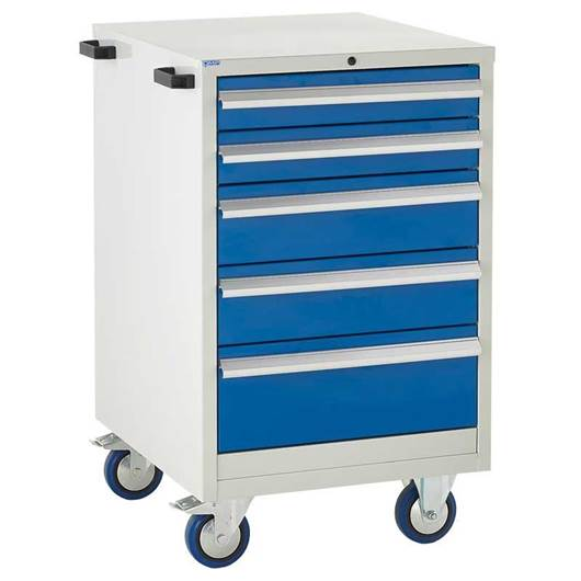 Picture of Mobile Euroslide 5 Drawer Cabinet