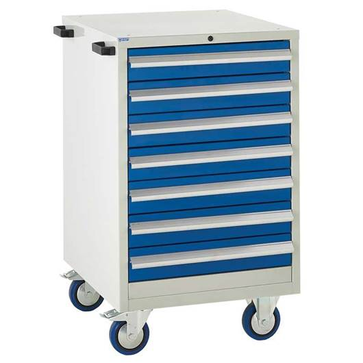 Picture of Mobile Euroslide 7 Drawer Cabinet