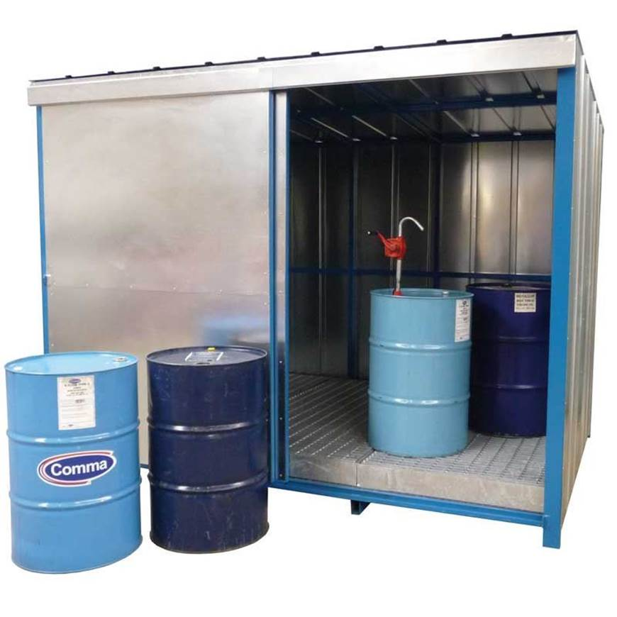 Picture of Drum Storage Unit with Sump Base