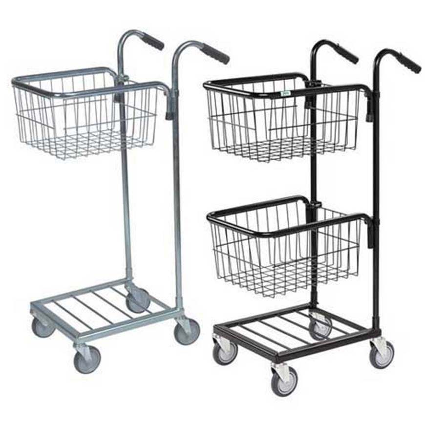 Picture of Distribution Trolleys with Adjustable Wire Baskets