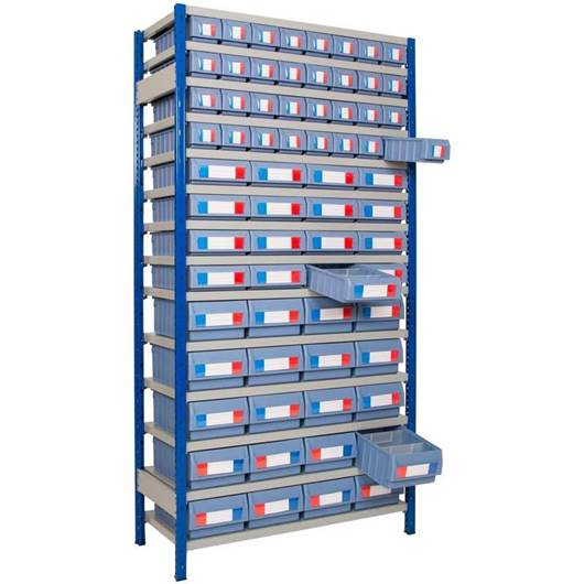Picture of Small Parts Shelving with Shelf Trays