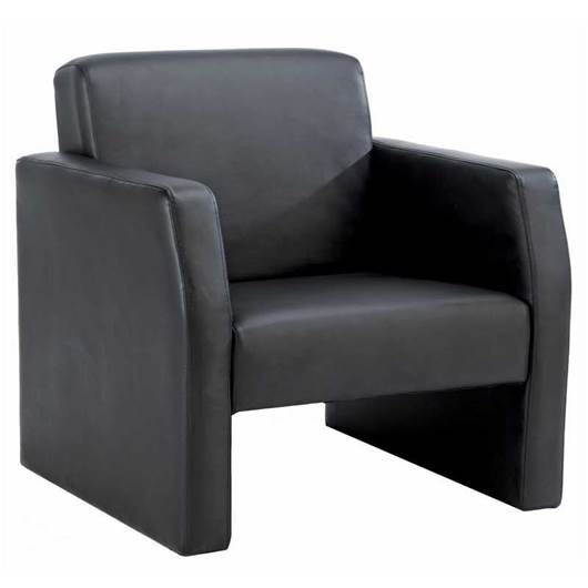 Picture of Face Bonded Leather Single Reception Seat