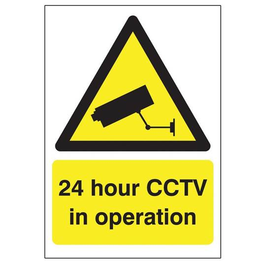Picture of 24 Hour CCTV In Operation Sign