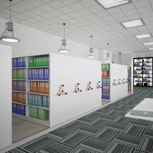 Picture of Kinetic Mobile Shelving System