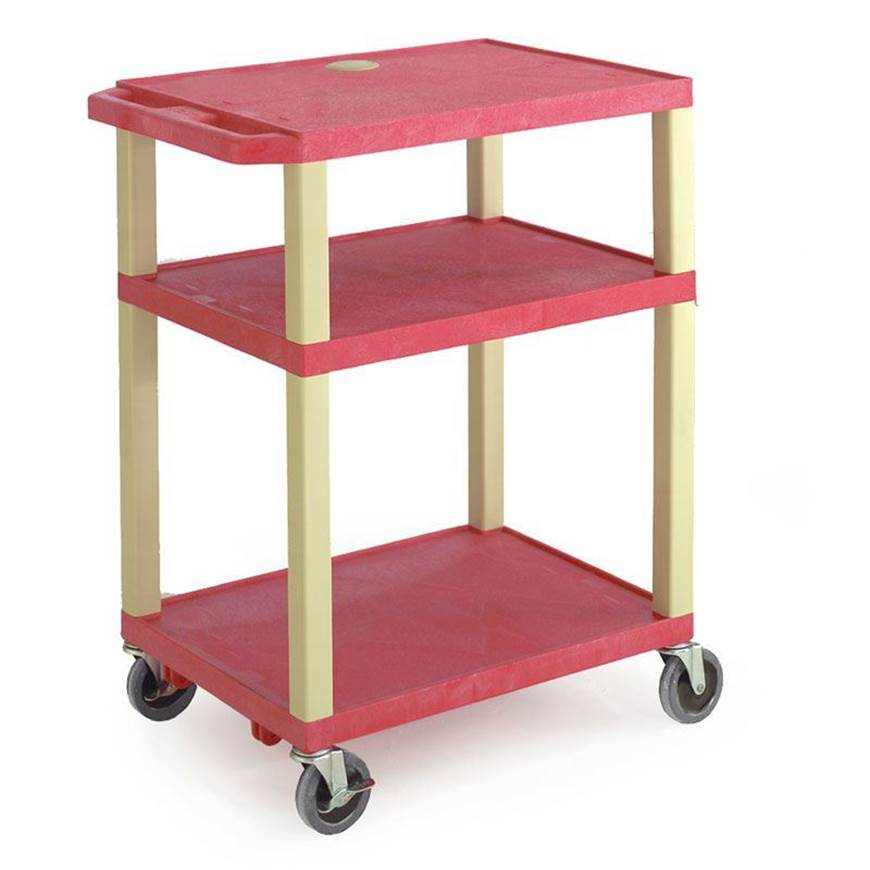 Picture of Service Trolley with Coloured Shelves
