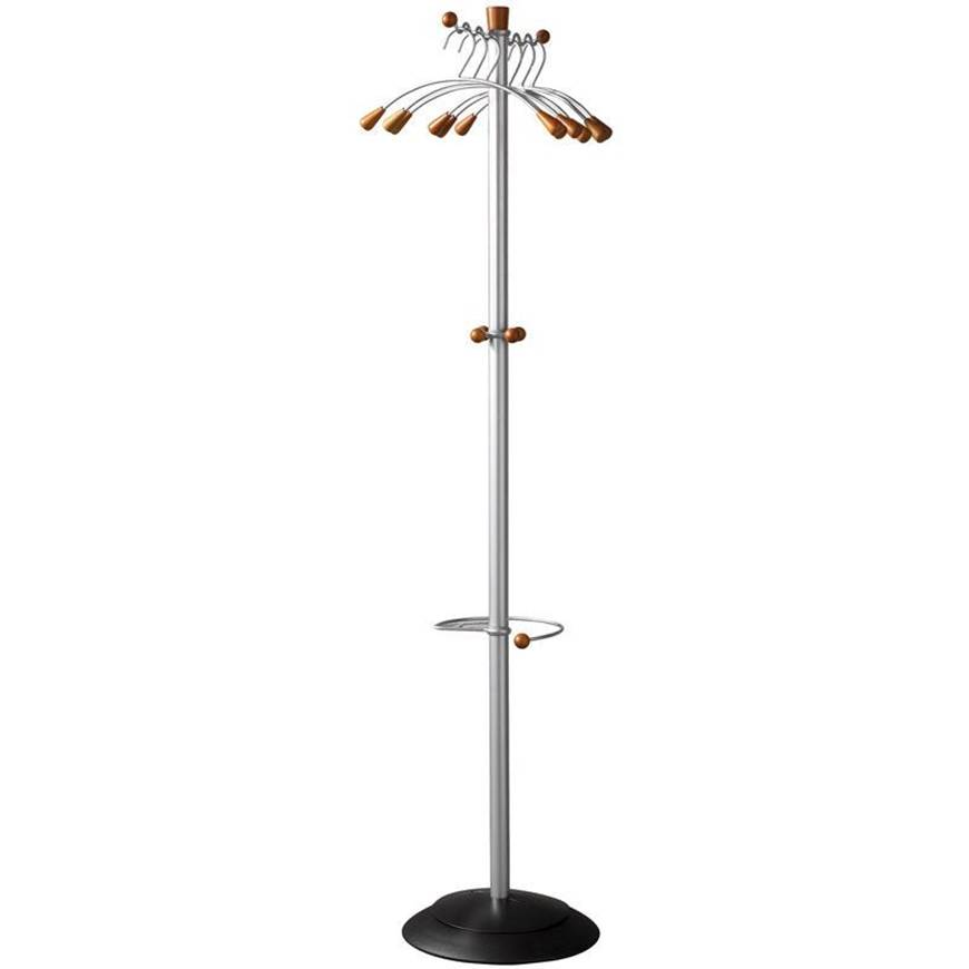Picture of Coat Stand with 6 Coat Hangers & Umbrella Holder